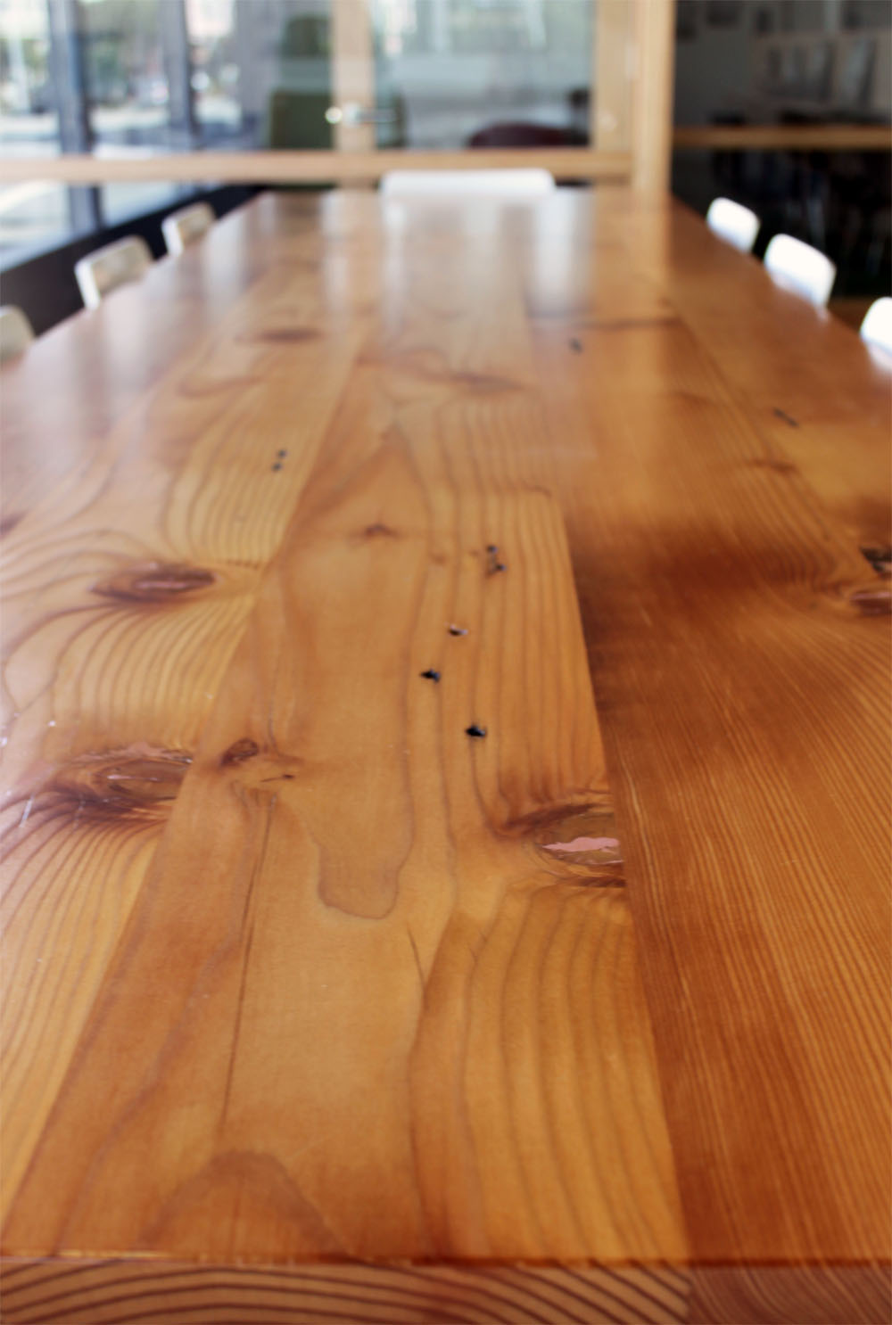 Conference table 3 Our New Recycled Douglas Fir Conference Table