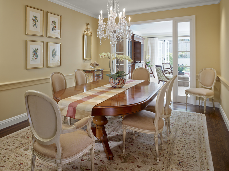 6 Dining Room Table1 New Remodel: Marrying Traditional & Modern Style in Small Home