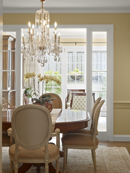 7 Dining Room Chandelier1 New Remodel: Marrying Traditional & Modern Style in Small Home