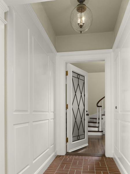French Door1 New Remodel: Marrying Traditional & Modern Style in Small Home