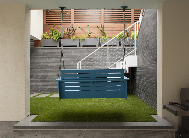 Astroturf Concrete Patio Carport Design Makes for Creative Outdoor Living Space