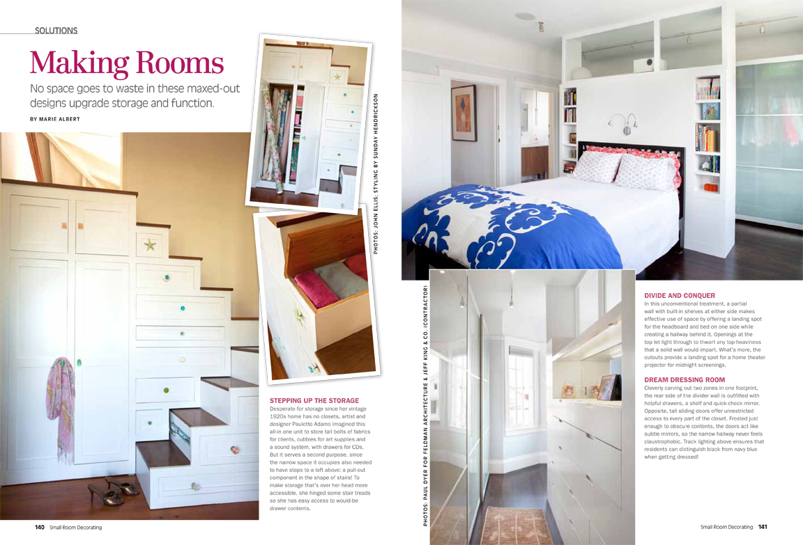 Jeff King Co Small Room Decorating 1 New Feature in Small Room Decorating Magazine