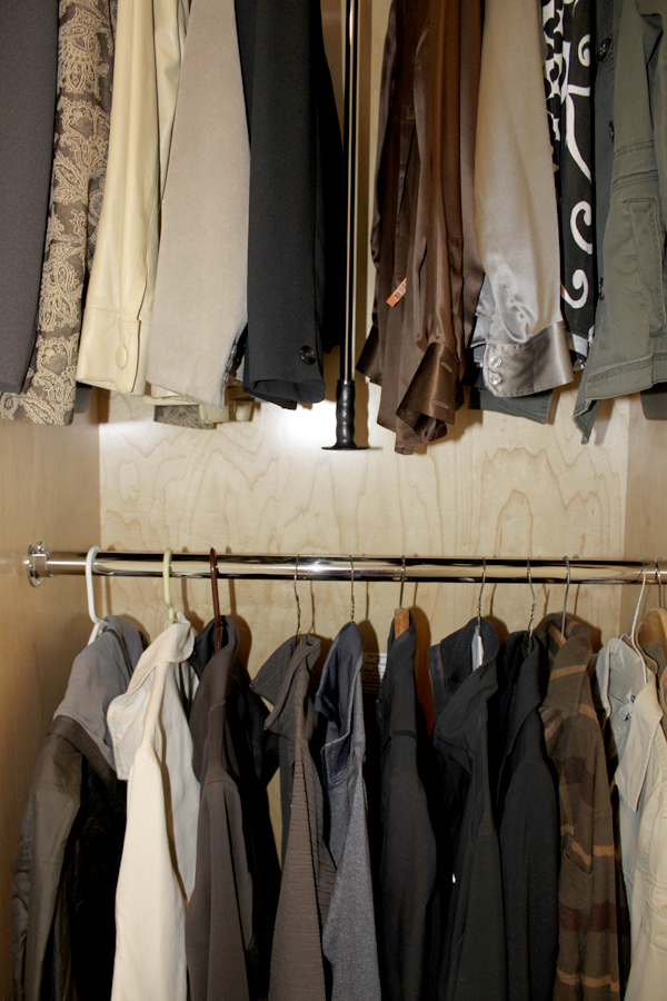2 closet closed Details for Her: Custom Cabinetry for Shoes, Jewelry & More