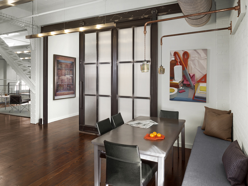 7 Contemporary residential remodel Historic SOMA Loft for Live, Work, Art Making and Entertaining
