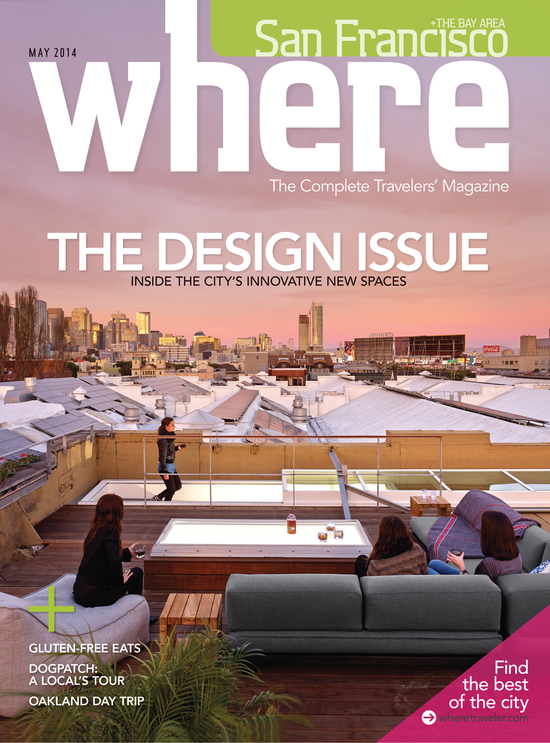Where San Francisco May 2014 As Seen in Where Magazine: Our SOMA Loft