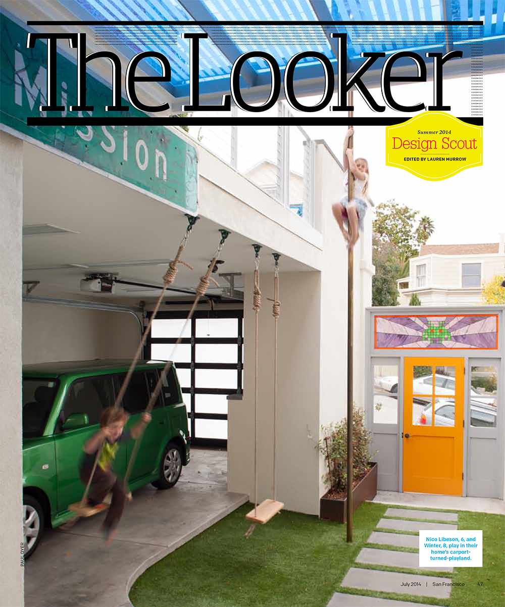 San Francisco Magazine p1 The Looker in July Issue of San Francisco Magazine